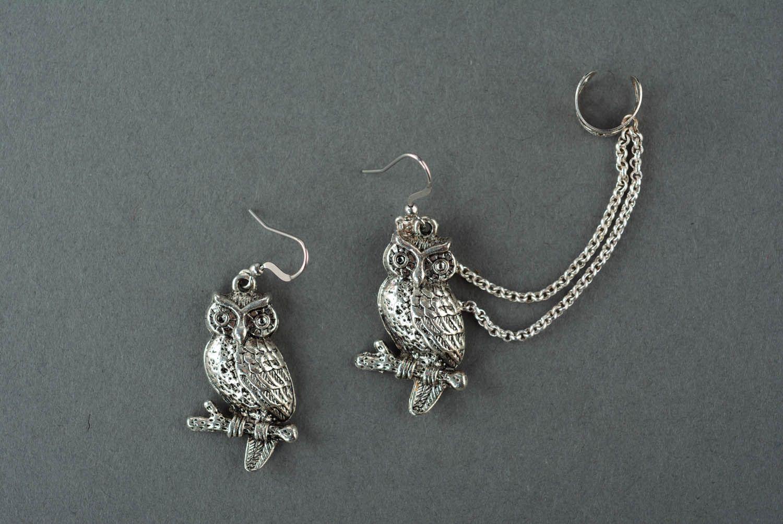 Metal ear cuffs Wise adviser photo 2
