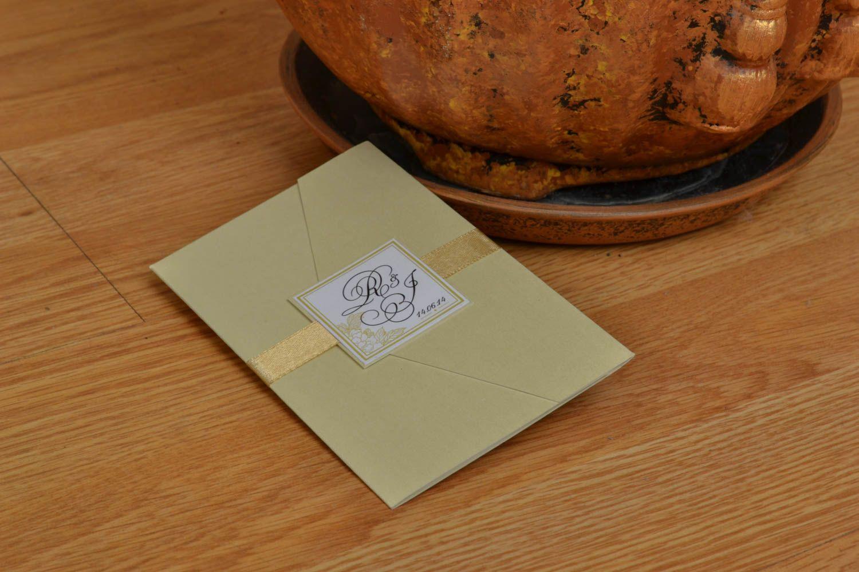 Homemade invitation card photo 4