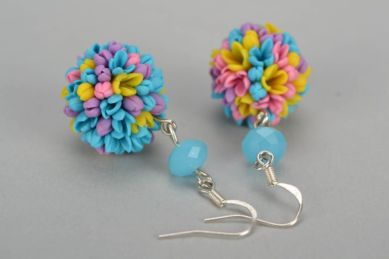 dangle earrings Earrings made of cold porcelain