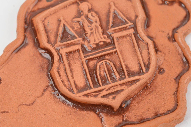 Beautiful homemade clay fridge magnet stylish ceramic magnet souvenir ideas photo 5