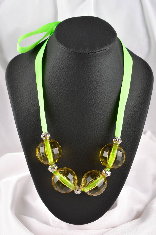 Bead necklace handmade jewelry designer necklaces for women ladies accessories photo 1