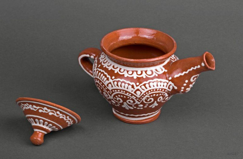 Clay teapot photo 2