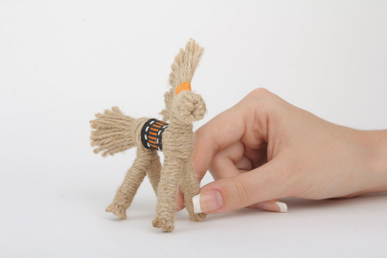 Ethnic woven toy photo 4