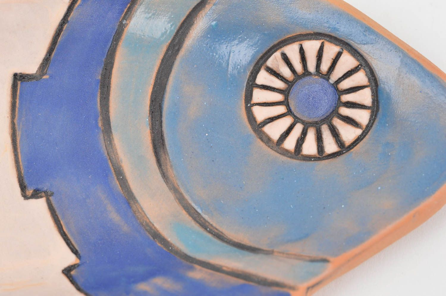 decorative plates Handmade decorative wall plate ceramic plate for home decor designer plate - MADEheart.com