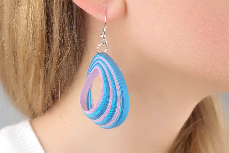 Earrings Sea Wave photo 1