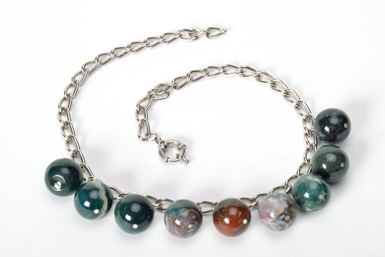 Jasper necklace  photo 5
