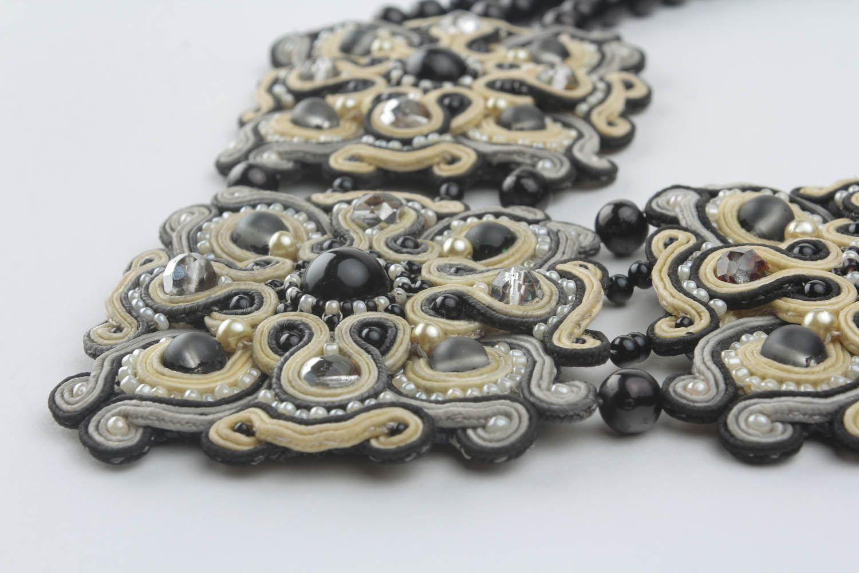 Ожерелье в сутажной технике фото 3