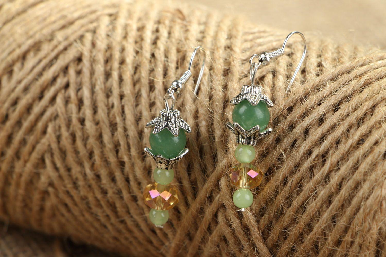 Homemade earrings Apple Blossom  photo 4