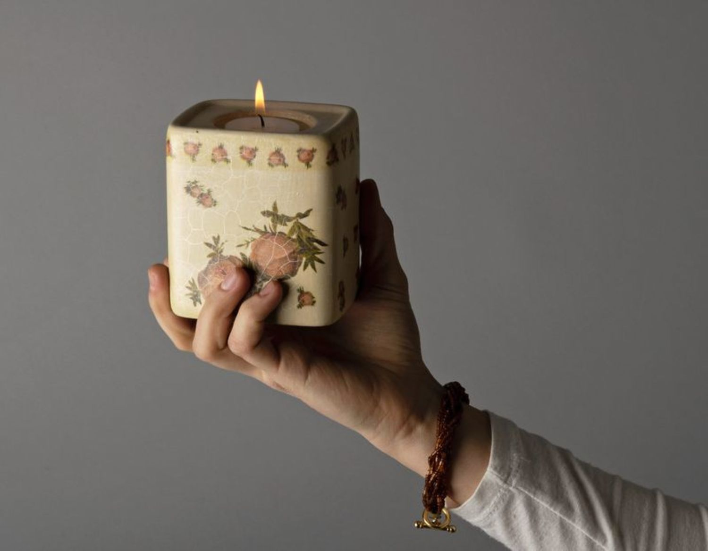 candles Ceramic candlestick - MADEheart.com