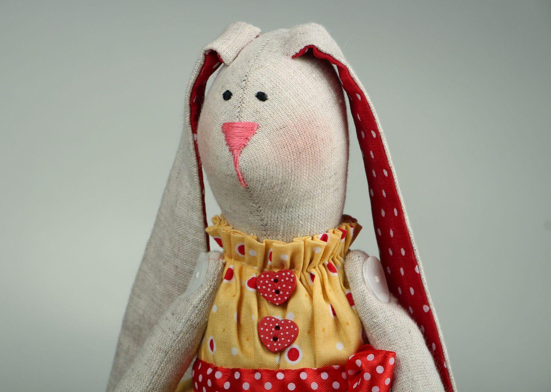 Rabbit doll hand work photo 1