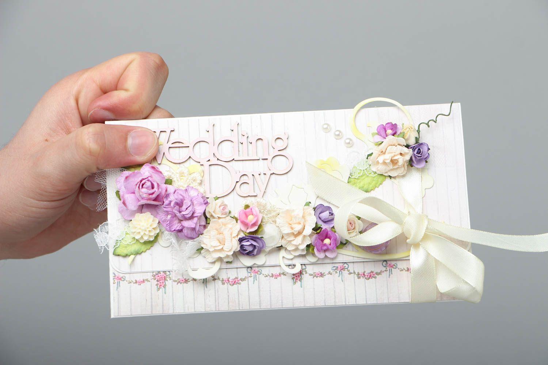 Beautiful wedding card photo 4