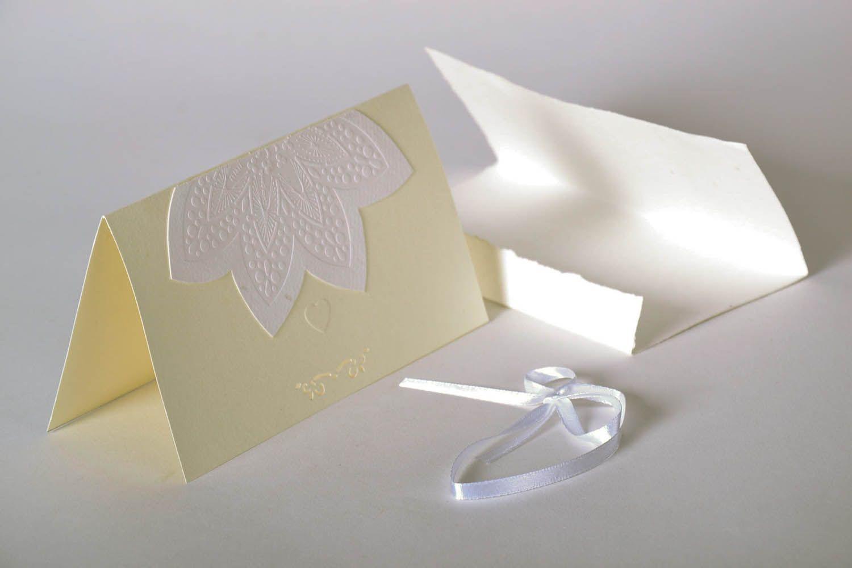 Wedding greeting card photo 3