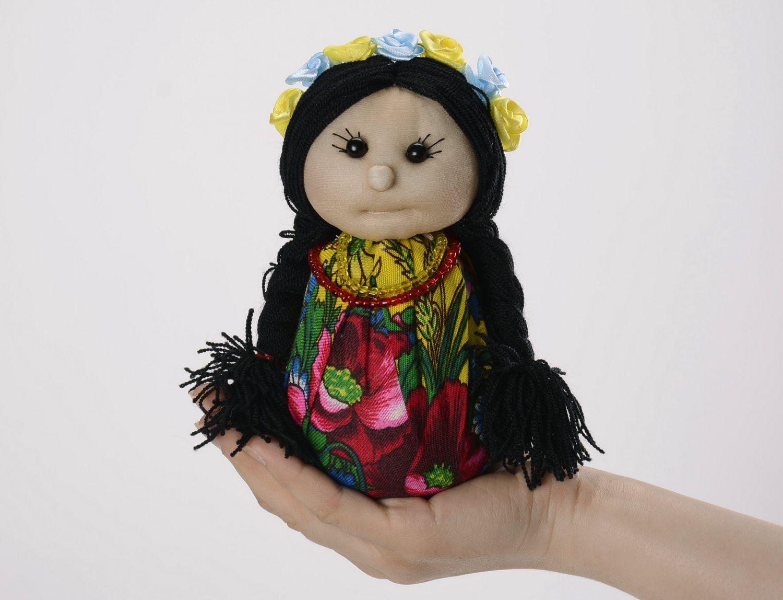 Soft sachet doll Ukrainian girl photo 5