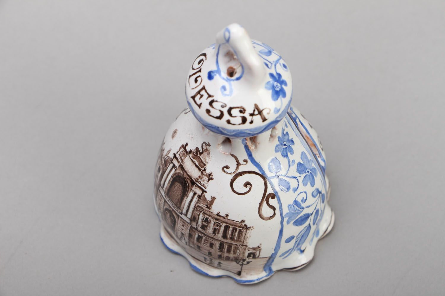 Small ceramic bell photo 2
