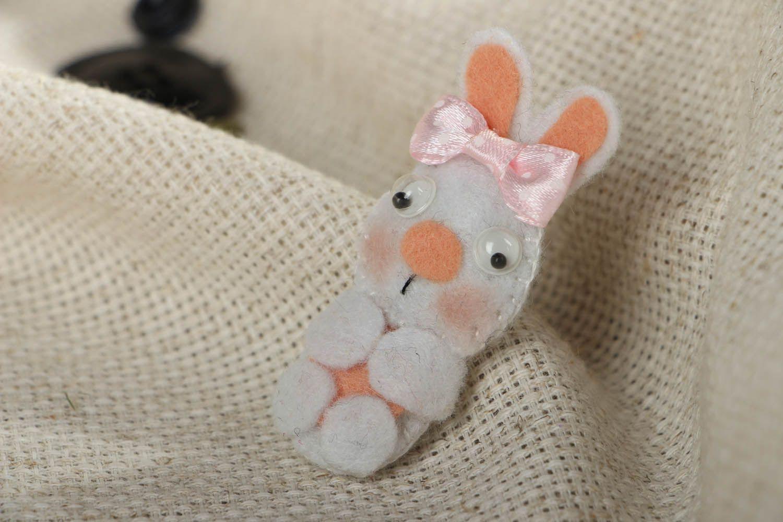 Felt fridge magnet Rabbit photo 5