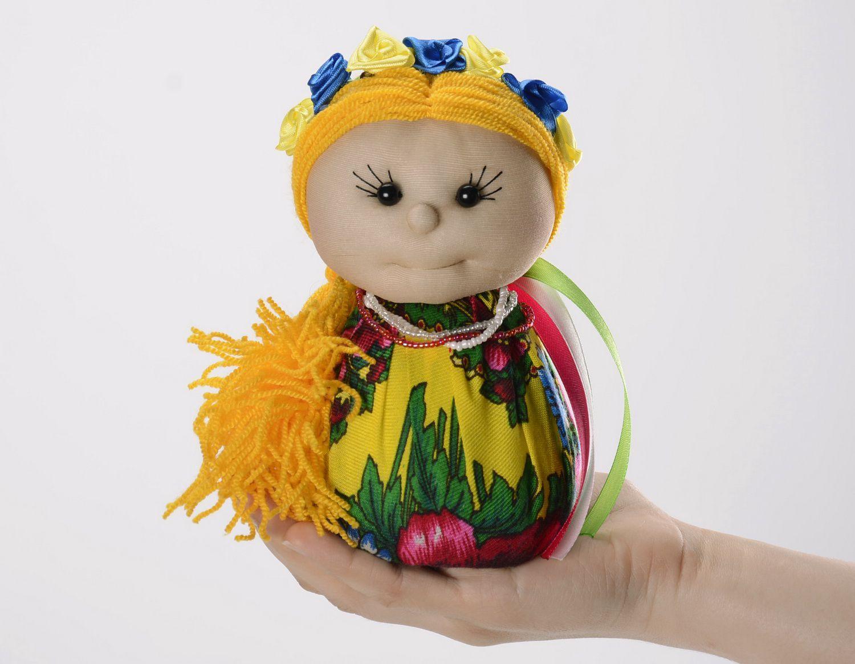 Sachet doll made from natural fabrics photo 5