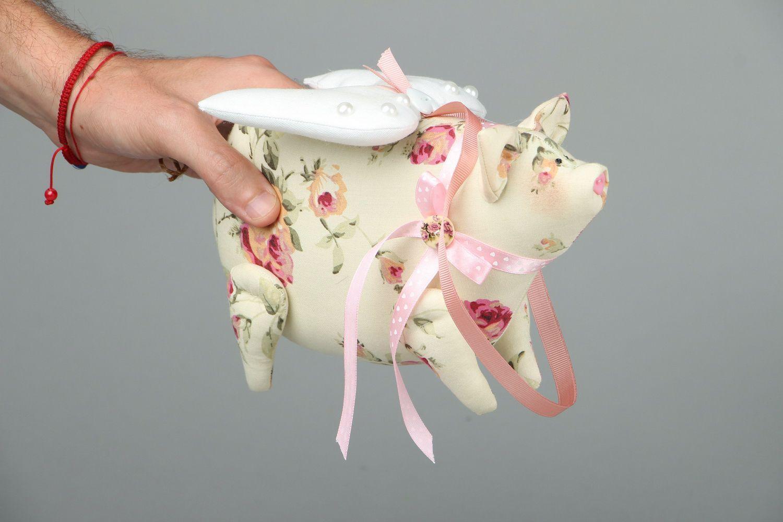 Soft toy Piggy-Angel photo 4