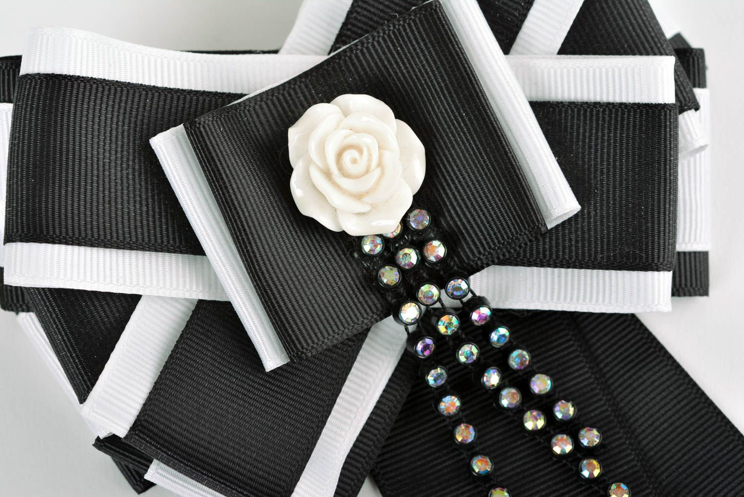 d408b3e1a38 abstraction brooches Handmade kanzashi brooch bow brooch rep ribbon brooch  for women elegant jewelry - MADEheart