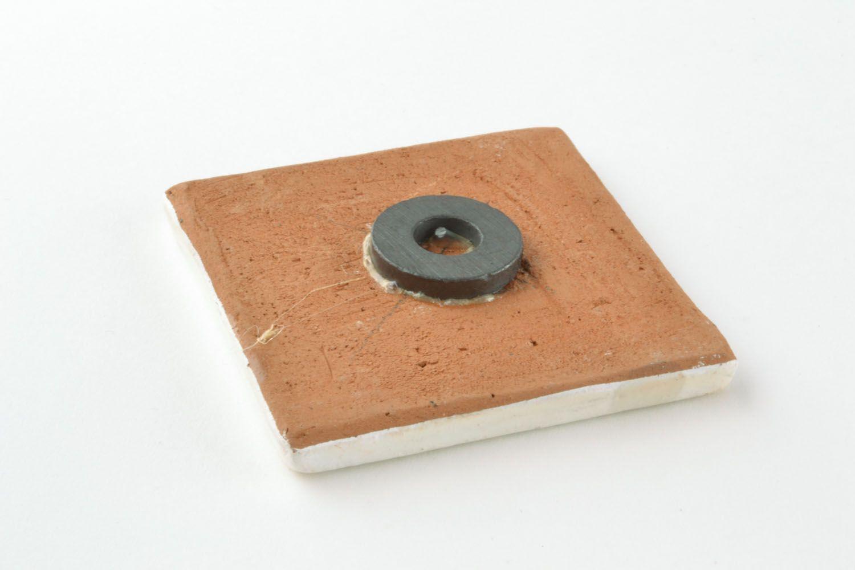 Ceramic fridge magnet photo 5