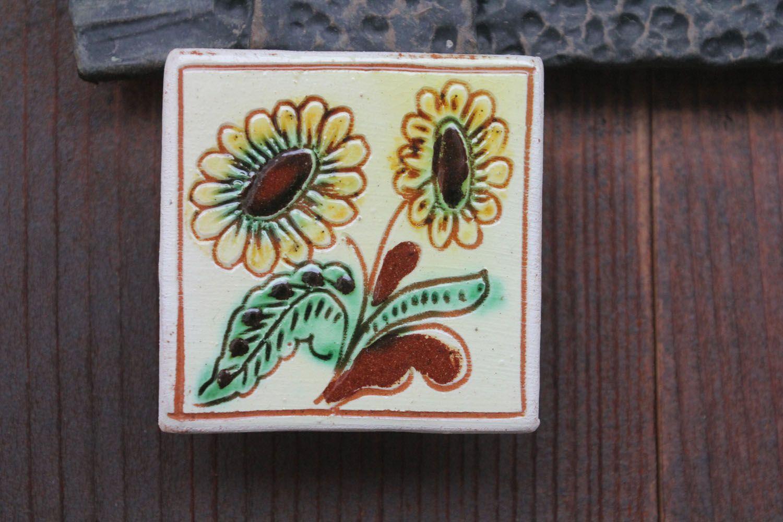 Fridge magnet Sunflowers photo 1