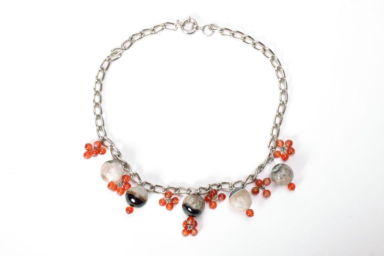 Beautiful gemstone necklace  photo 2