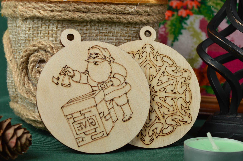 Madeheart colgantes decorativos hechos a mano adornos - Articulos de madera para manualidades ...