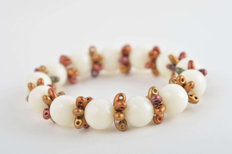 Wrist bracelet handmade jewellery bead bracelet fashion accessories gift for her photo 2