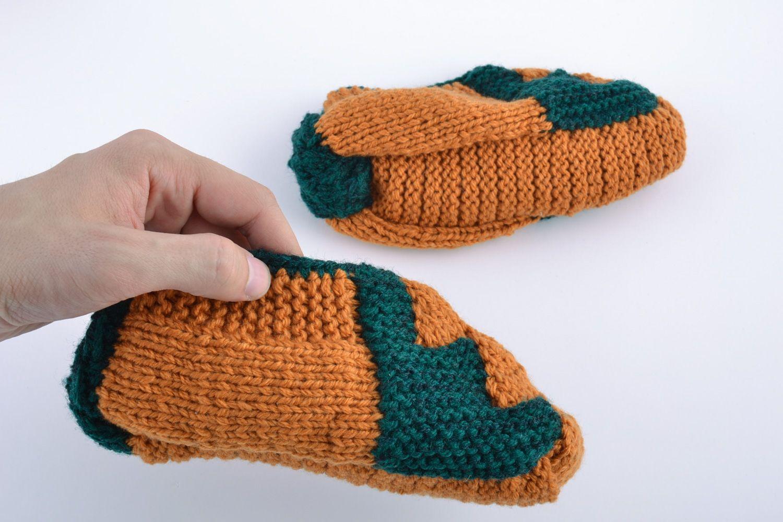 Носки, тапочки своими руками Валерия Идеи и фотоинструкции