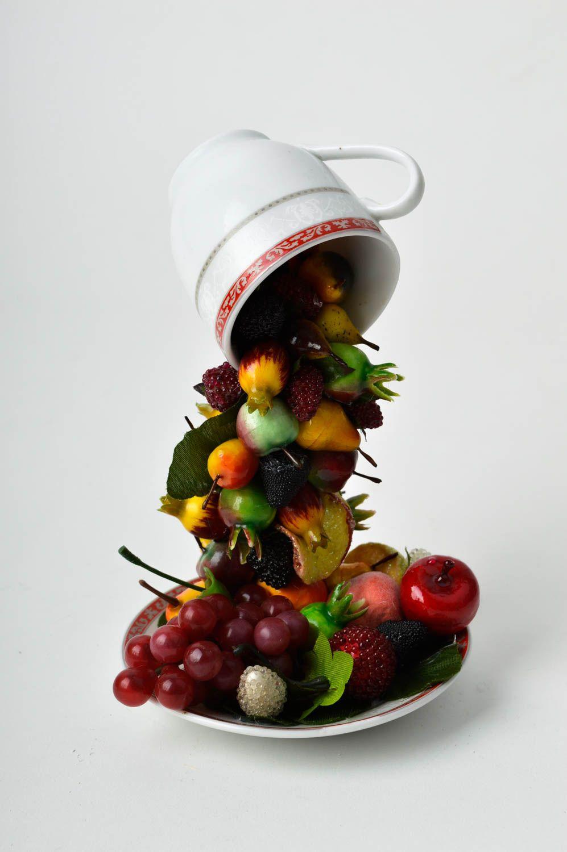madeheart > fliegende tasse hansmade originelles geschenk deko