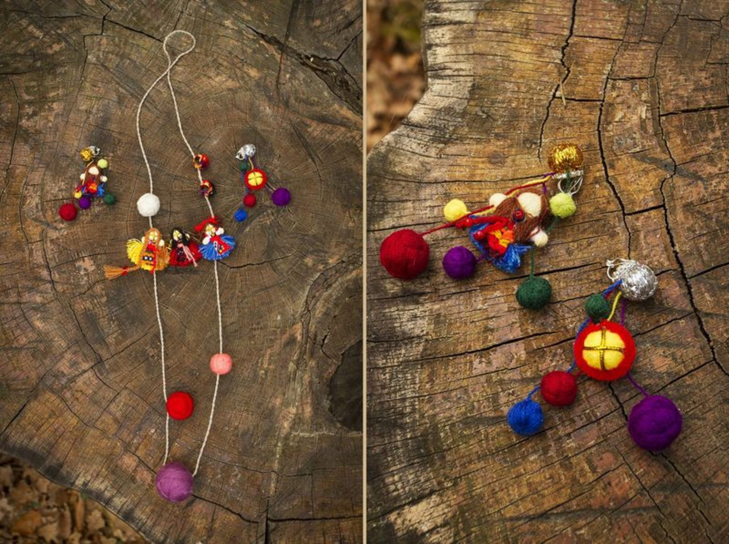 Set of adornments in ethnic style photo 3