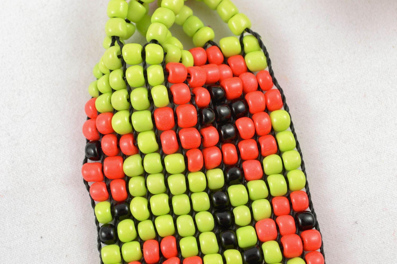 Multirow beaded necklace in ethnic style photo 2