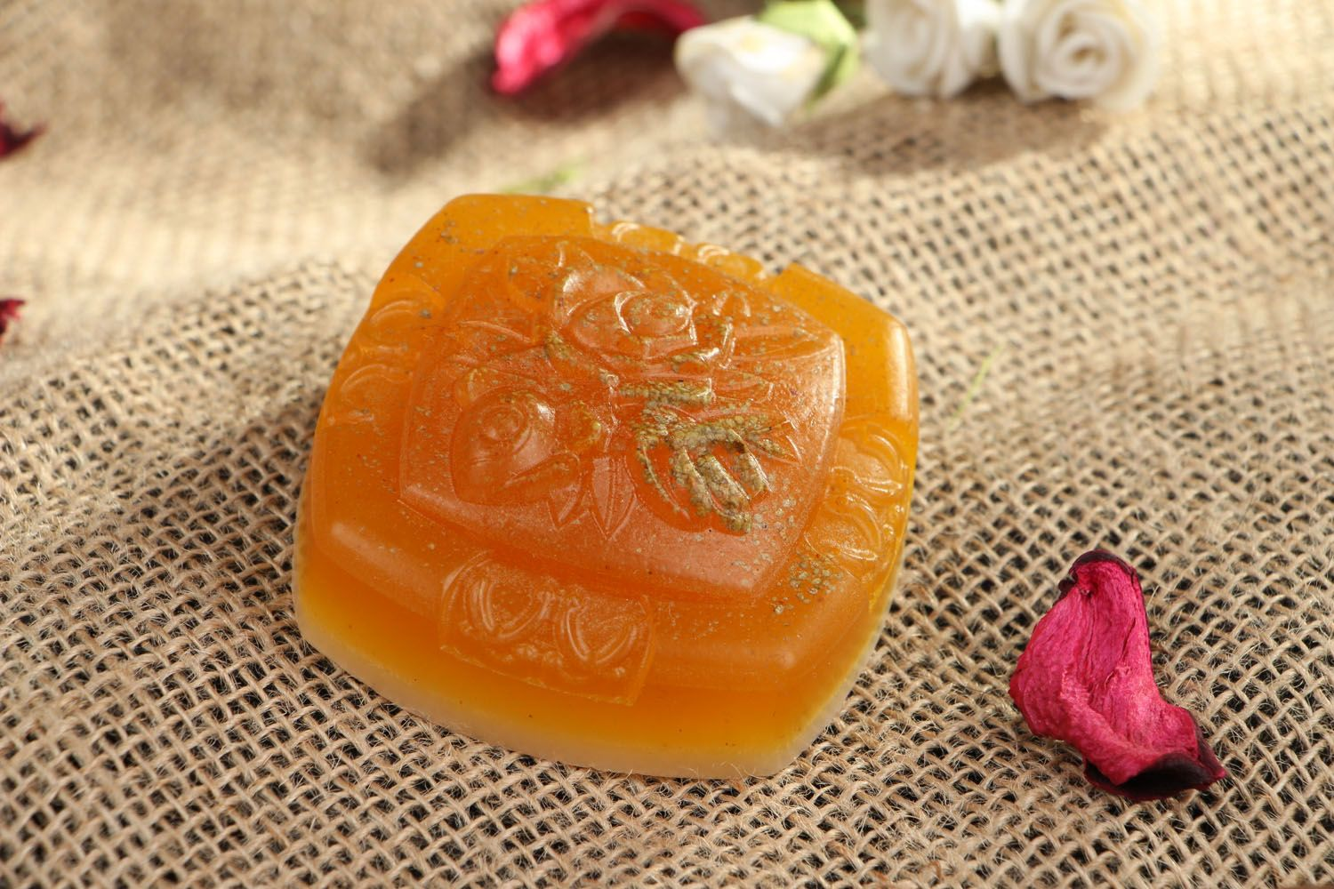 Natural soap Flowers photo 5