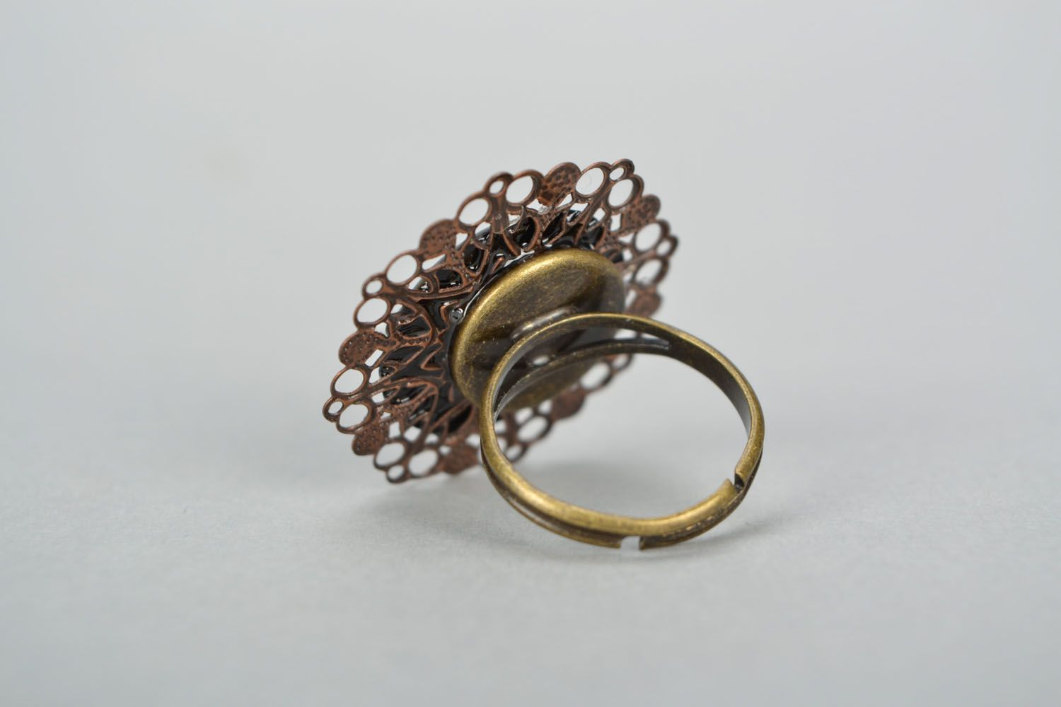 Unusual ring for women photo 3