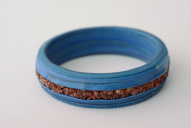 Polymer clay bracelet photo 1