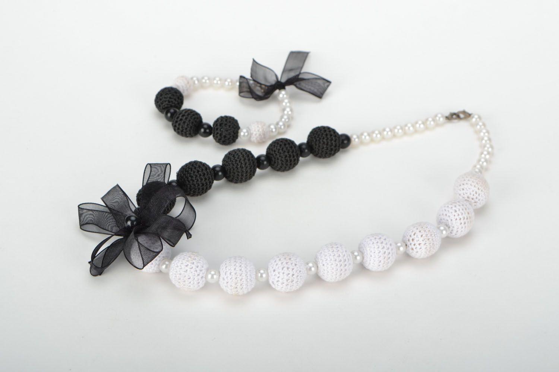 Jewelry set Black and White photo 1