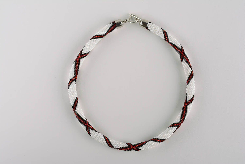Beaded cord Scottish Plaid photo 4