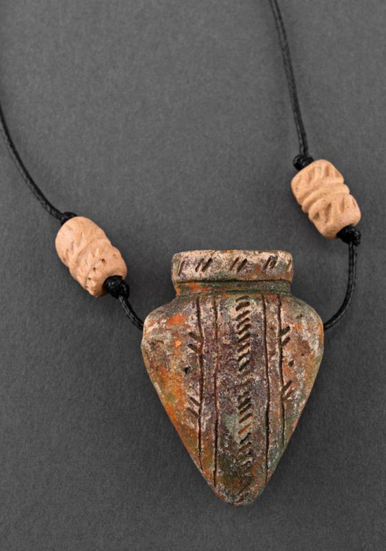 Ceramic pendant Amphora photo 1