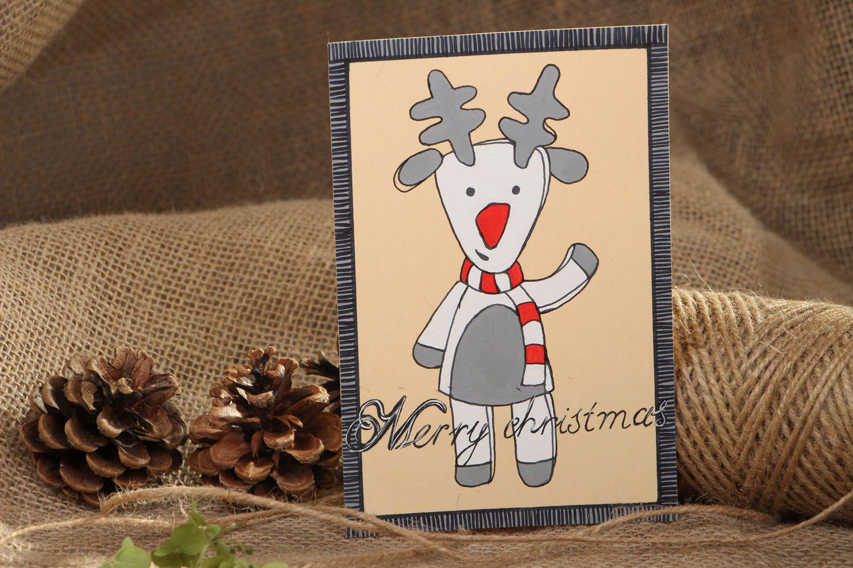 Homemade Christmas card photo 4