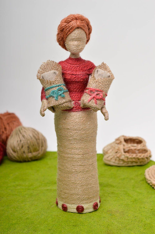 Куклы из джута своими руками 68