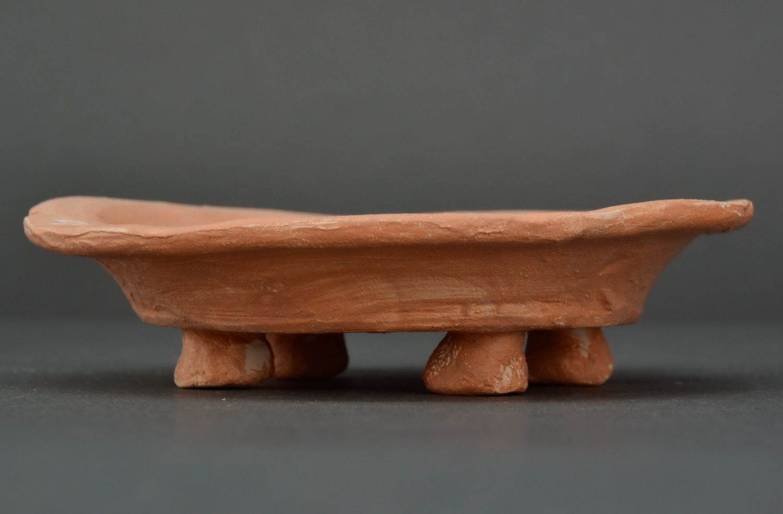 Clay soap dish photo 3