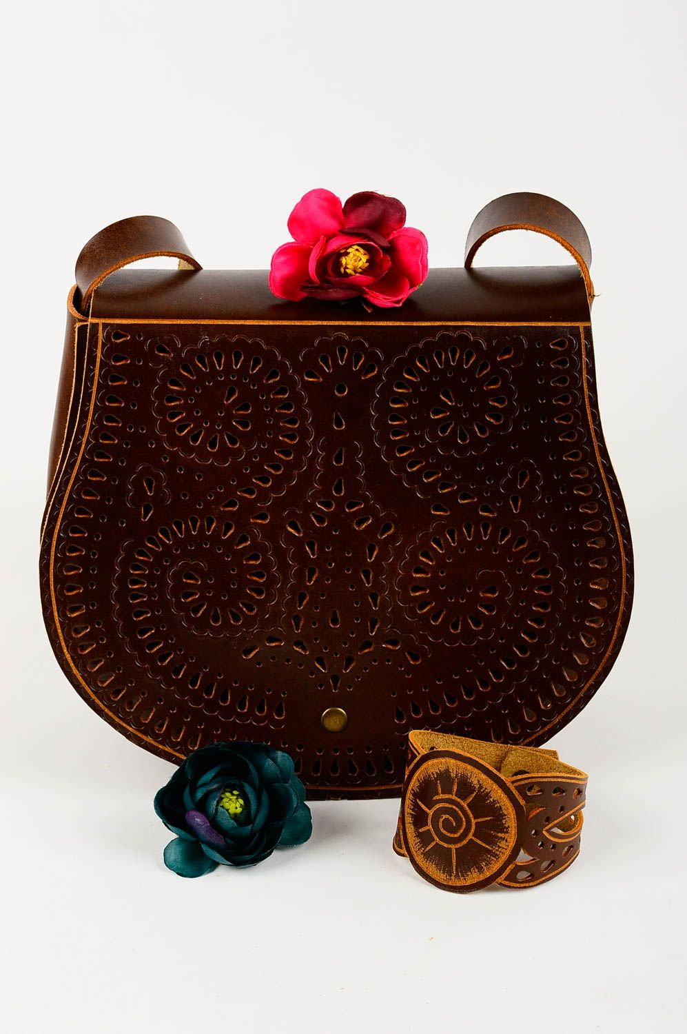 e2d71a5c63f Handmade leather bag leather bag natural leather handbag unusual design bag