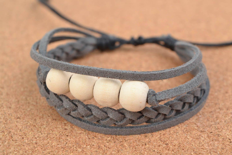 Мужские браслеты своими руками из кожаных шнурков