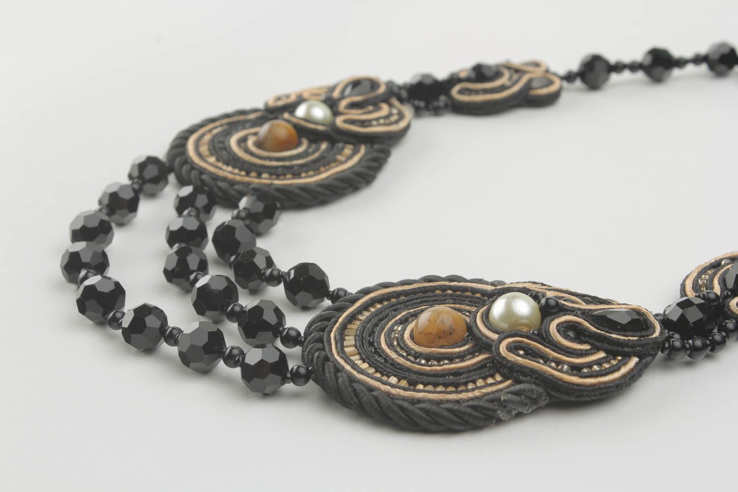 Soutache necklace  photo 3