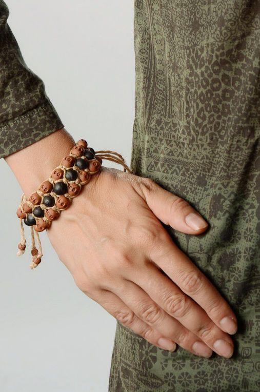 pulseras de arcilla Pulsera de arcilla - MADEheart.com