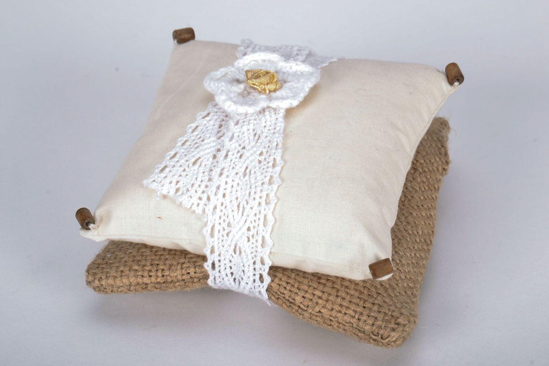 Homemade sachet pillow photo 3