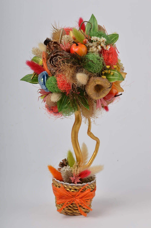 Stylish topiary handmade tree table decor housewarming gift decorative use only photo 2
