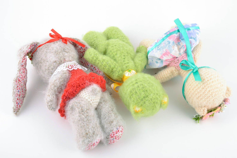 Наборы вязания игрушек 91