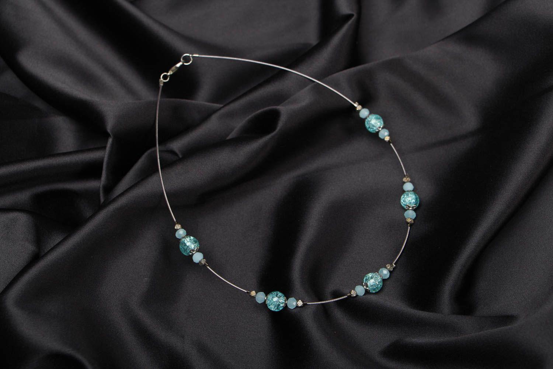 Festive beaded necklace photo 1