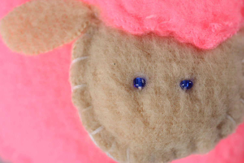 Soft fabric toy Pink Sheep photo 2