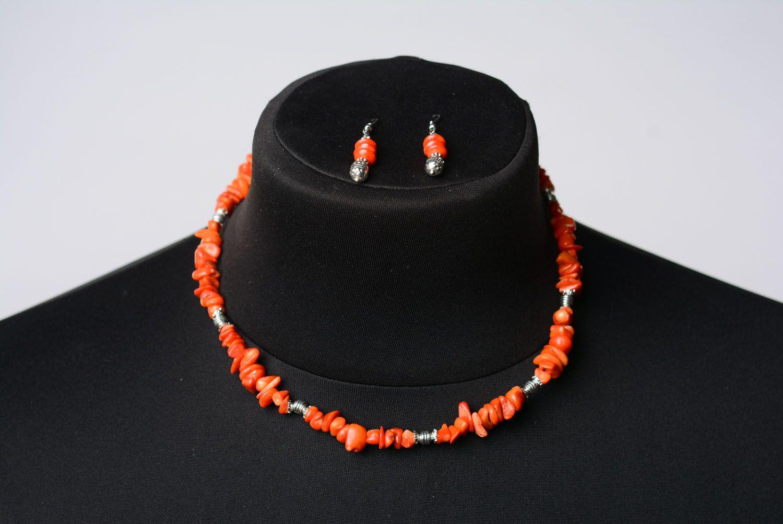 Stone jewelry set photo 2